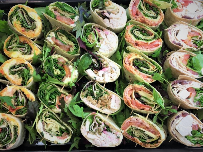 Gourmet Wrap Platter